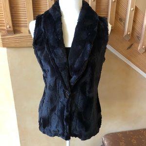 Vine Street Faux Fur Vest